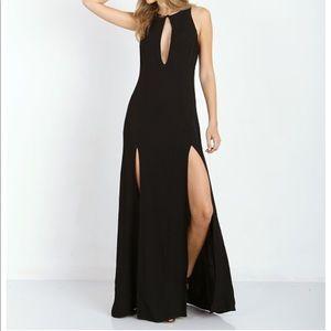 Stone Cold Fox Black Maxi evening dress